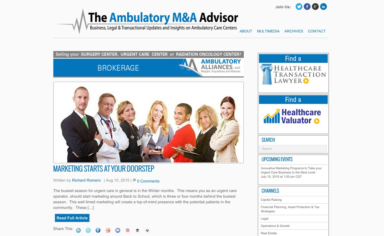 Ambulatory Advisor
