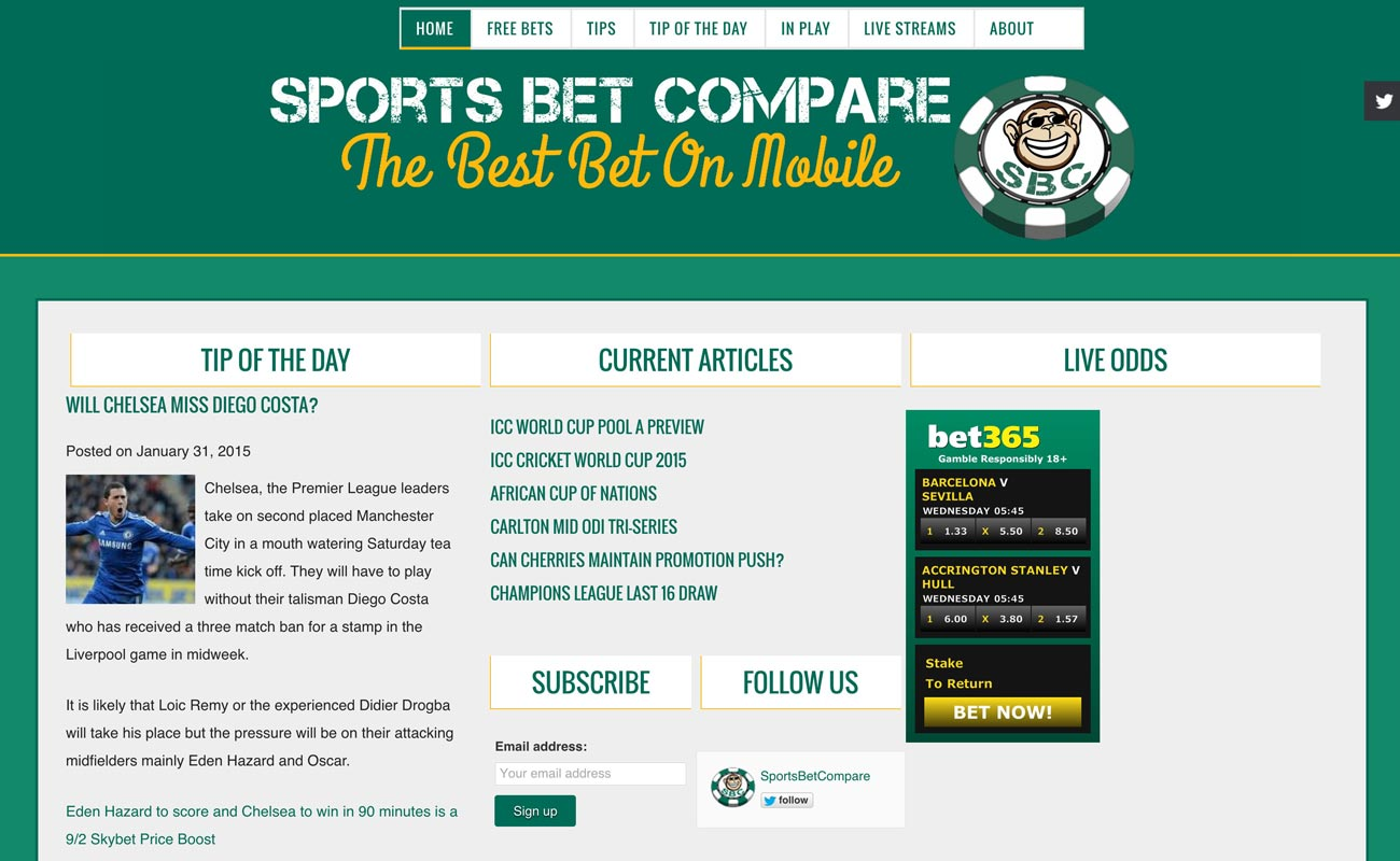 Sports Bet Compare