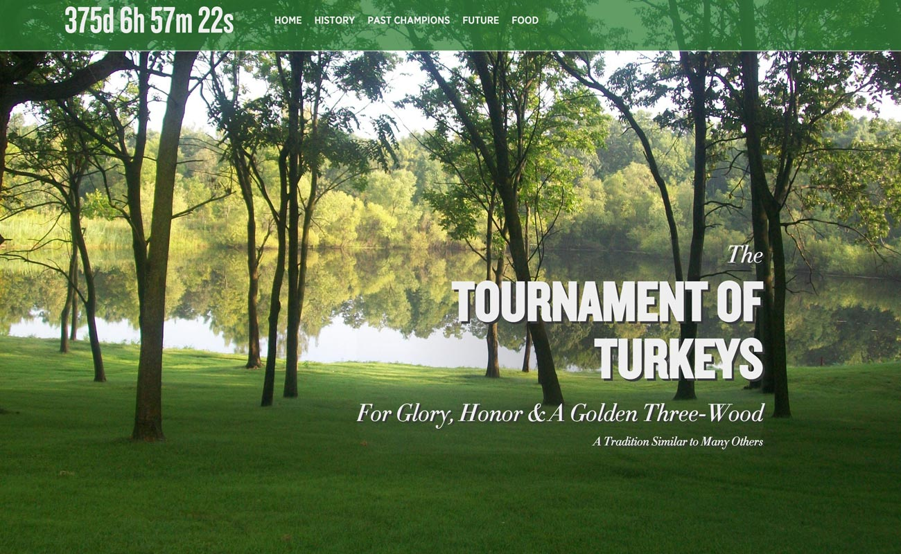 Tournament of Turkeys